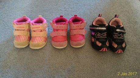 子供靴3足セット new balance 2 月星 1