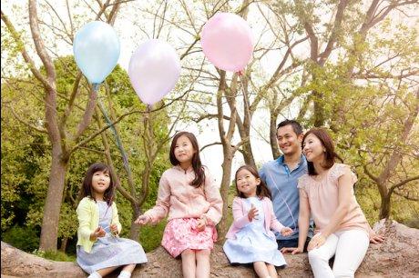 夏の特別家族写真キャンペーン