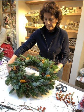 【残席わずか】英国風クリスマスデコレーションの基本コース