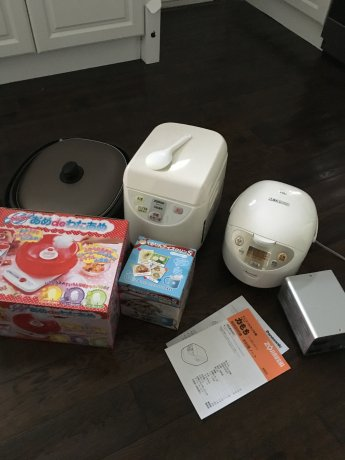 日本製家電売ります