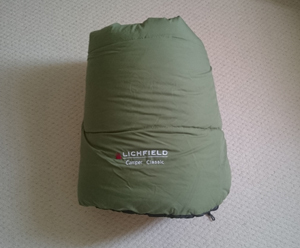 キャンプ用ダブルかけ布団(1人用 寝袋兼用)未使用