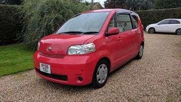 日本から個人輸入トヨタポルテ売ります!