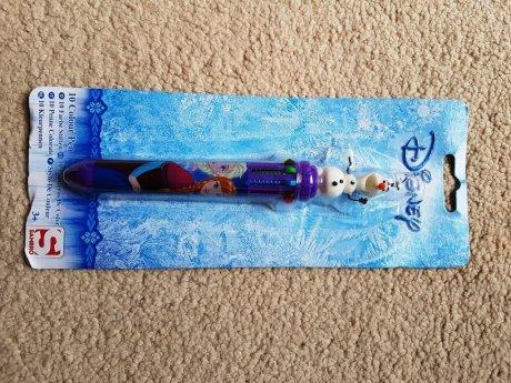 新品ディズニーアナと雪の女王10色ペン