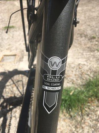 Bicycle six gears in wheel hub