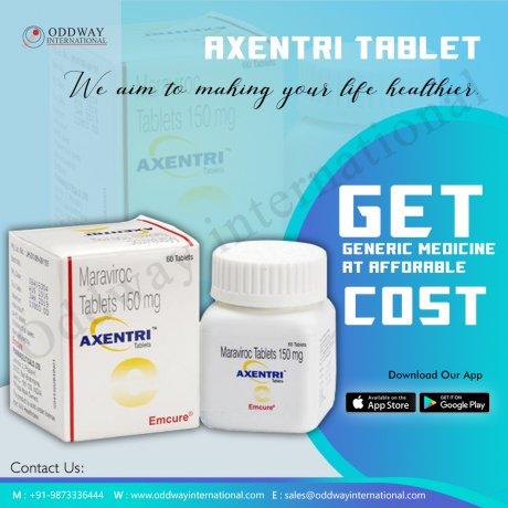 抗HIV薬-Axentri150mgをオンラインで購入