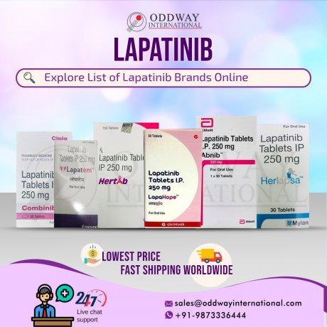 ラパチニブブランド-ラパチニブ250mgをオンラインで購入