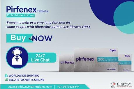 Pirfenex 200mg(ピルフェニドン)錠をオンラインで購入する