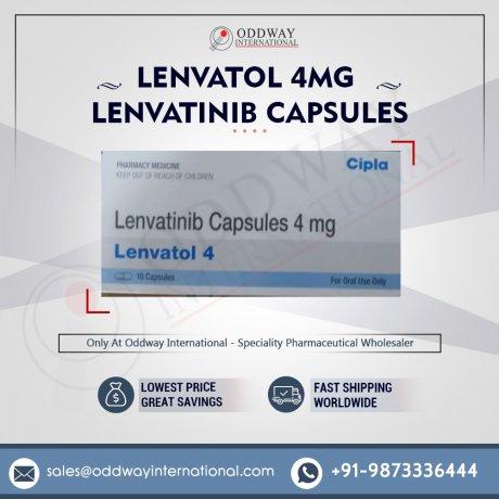 最低価格 Lenvatol 4mg カプセルオンライン