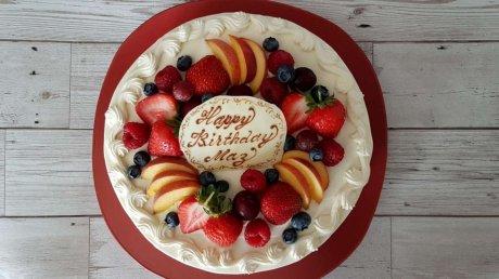 いちごのショートケーキでお誕生日を!=Japanese Cake=