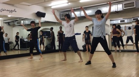 来週月曜日3月20日・ミュージカルダンスワークショップ