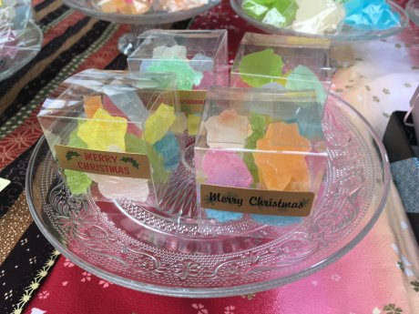 12月17日(日)  和菓子✨琥珀糖✨ コベントガーデン