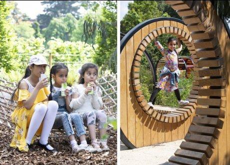 キュー・ガーデンに新たなプレイエリアがオープン!