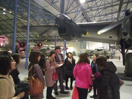 震災チャリティー✫RAF英国空軍博物館•公認日本語ガイドツアー