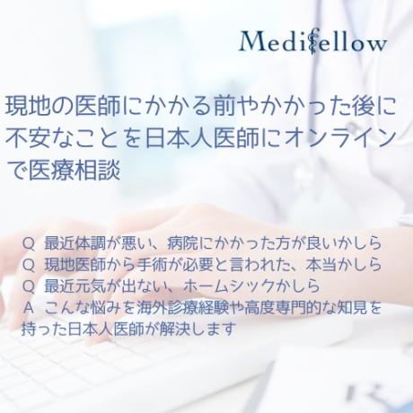 日本人医師によるオンラインで医療相談