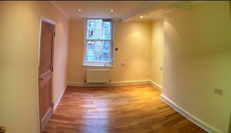 ロンドンの中心地・静かで広い家具付き1寝室フラット