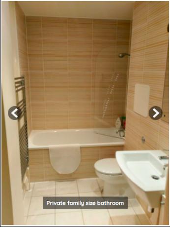 ダブルルーム+専用バスルーム - 光熱費と週1クリーニング全て込み